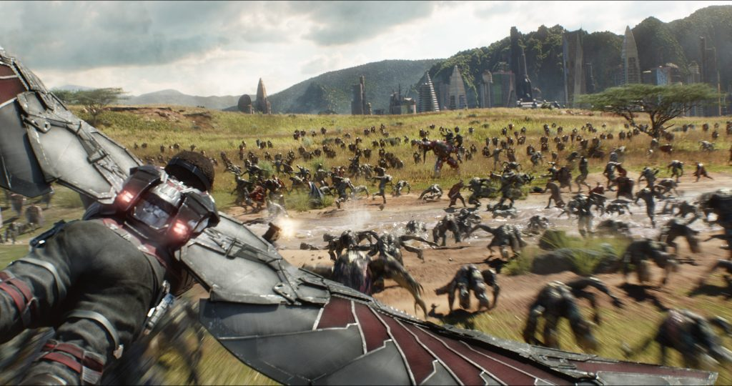 Wakand Infinity War