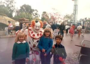 "Lynette, Nicole ""Circus on Parade"" 1988"