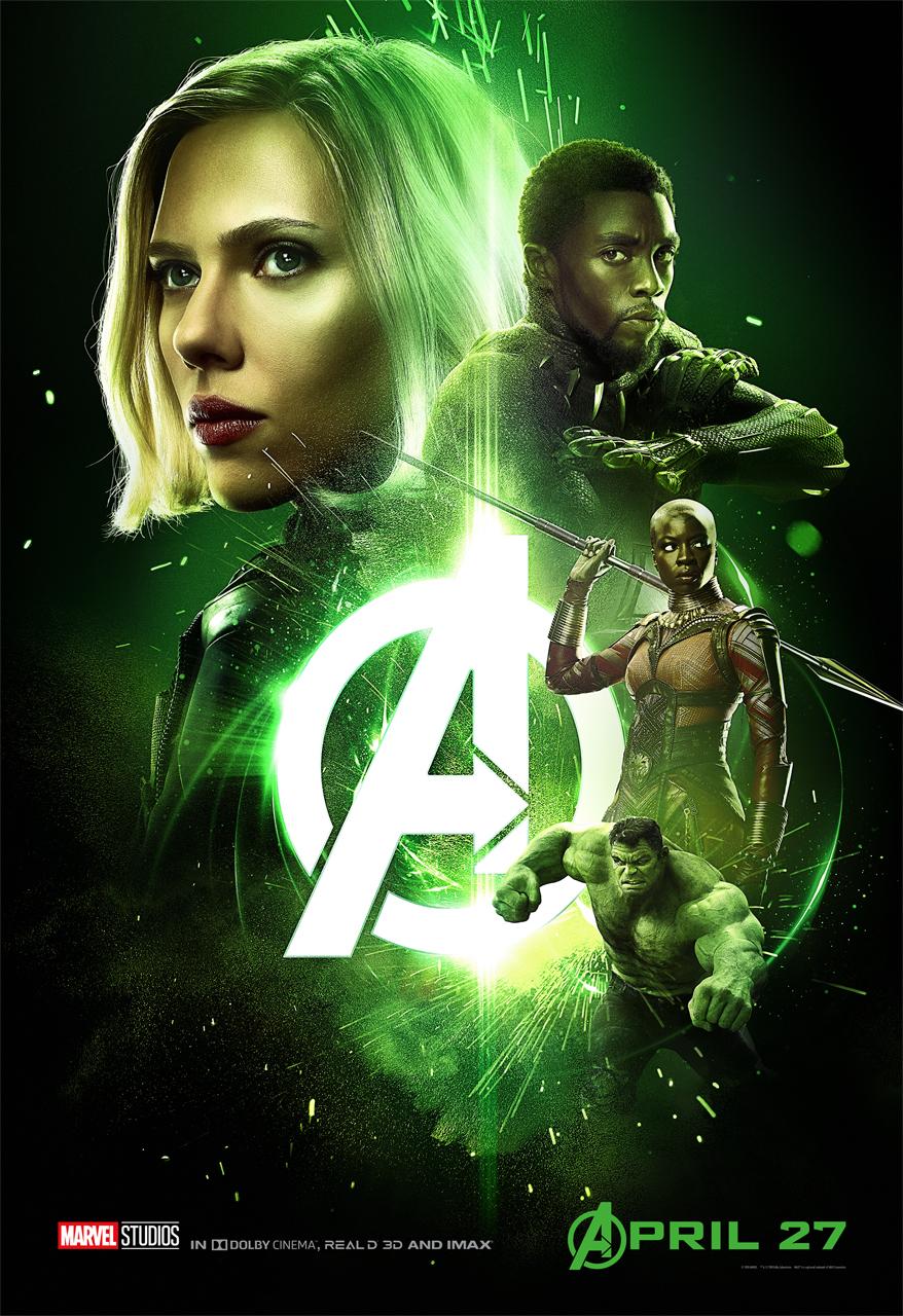 Wakanda poster Infinity War