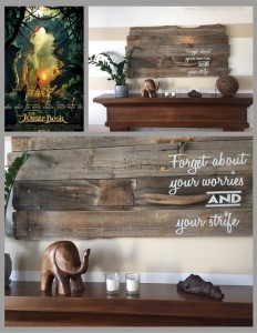 "real UP house ""The Jungle Book"" mantle"