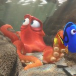 FINDING DORY – When Dory finds herself in the Marine Life Institute, a rehabilitation center and aquarium, Hank is the first to greet her.