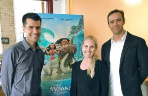 Stayed tuned for my interview with Moana filmmakers & my movie review!
