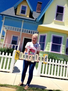 Me (Lynette) in front of my UP House rockin' my Skyway shirt